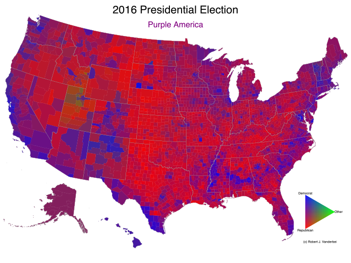 Presidential Election Results - 2016 us election electoral map results