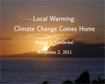 Local Warming