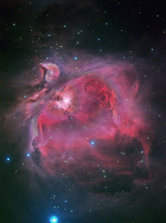 M42 - Great Orion Nebula Longexposure