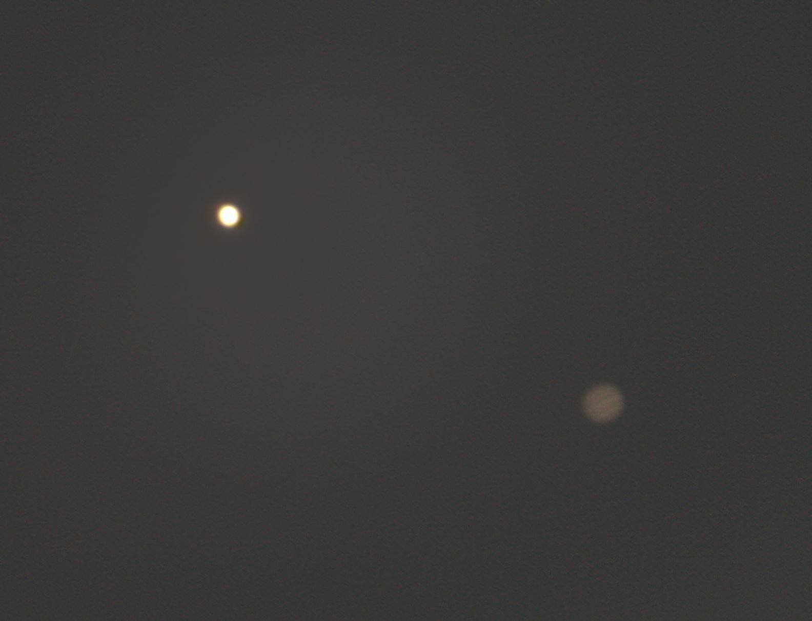 Jupiter/Venus Conjunction